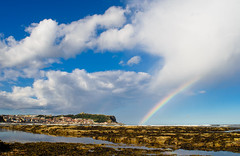 Rainbow in Scarborough, North Yorkshire. By Thomas Tolkien photo by Thomas Tolkien