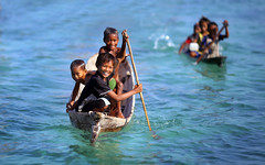 Bajau Kids photo by nelza jamal