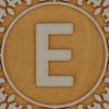 John Crane Classic Block Letter E