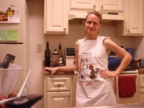 Saturday Night Apron-Clad