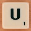 Scrabble Scramble Letter U