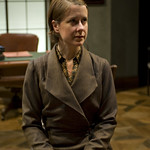 Kate Fry in THE LETTERS at Writers' Theatre. Photo by Michael Brosilow.