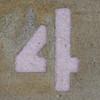 Stencil Number 4