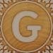 John Crane Classic Block Letter G