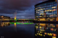 Foot bridge - Salford Quays - Manchester photo by Shahid A Khan