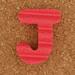Foam Letter J