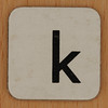 Word Making & Anagrams letter k