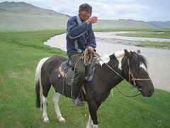 Kazakh dad