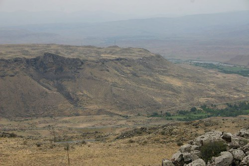 View of the Armenian territory from the Turkish side, near Tuzluca.