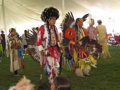 Omak Stampede Indian Encampment Dancing
