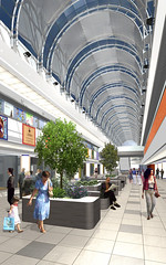 Interior Arena City Center Bacau