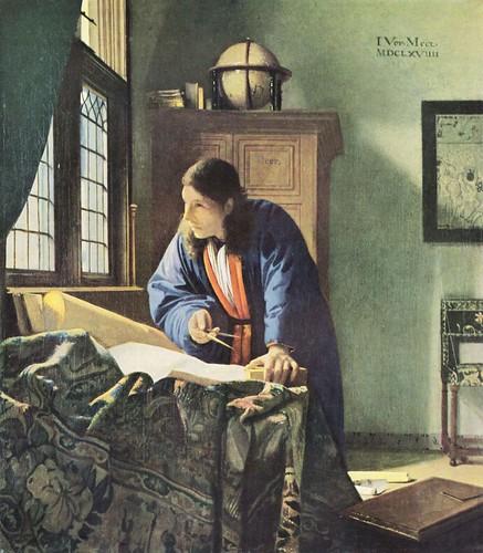 Jan Vermeer il geografo