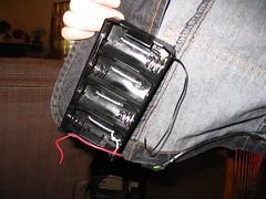 Right Battery Holder