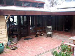 verandah out the front