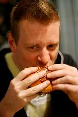 John eats