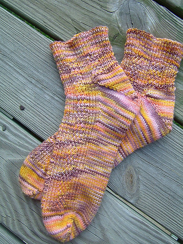Finished Mango socks!