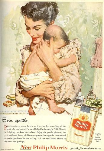 Philip Morris Born Gentle 1956