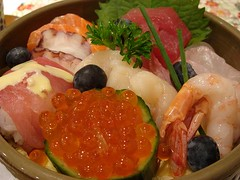 Cafe Au Lait Chirashi Sushi