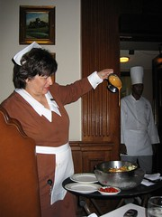 At Lawry's The Prime Rib in Chicago, 10/2005