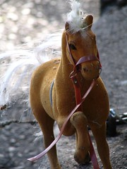 horses on Clinton St.