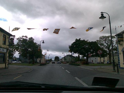 Kilkenny Flies Flags for All-Ireland Hurling Today