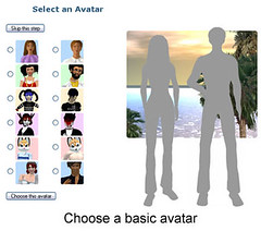 Choose a basic avatar
