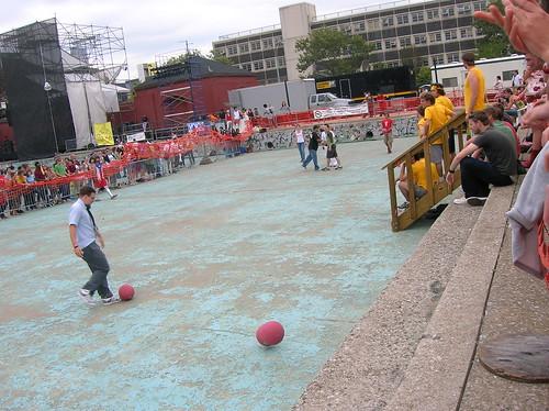 dodgeball@ mccarren pool