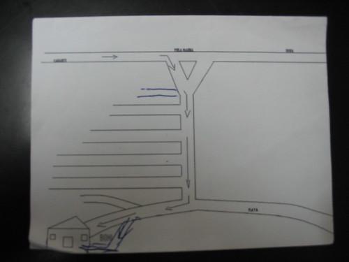 Perla Marina, Original Map
