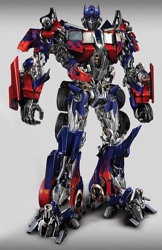 Otimus Prime de frente