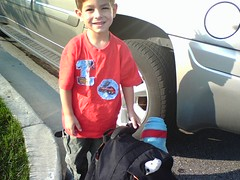 Ian - First Day of Pre-School