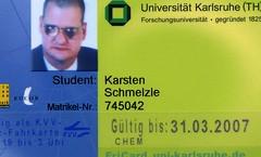 Studentenausweis III