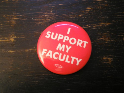 I Support My Faculty
