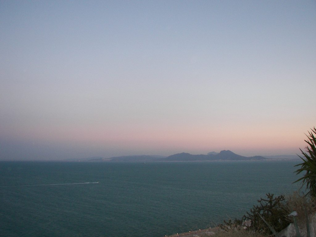 wide view from sidi bousaid