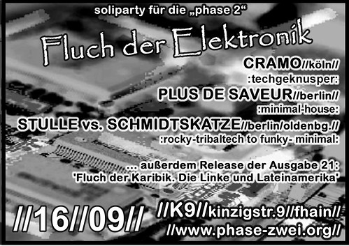 phase 2 party flyer