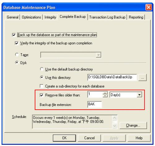 SQL2000BakCleanUp