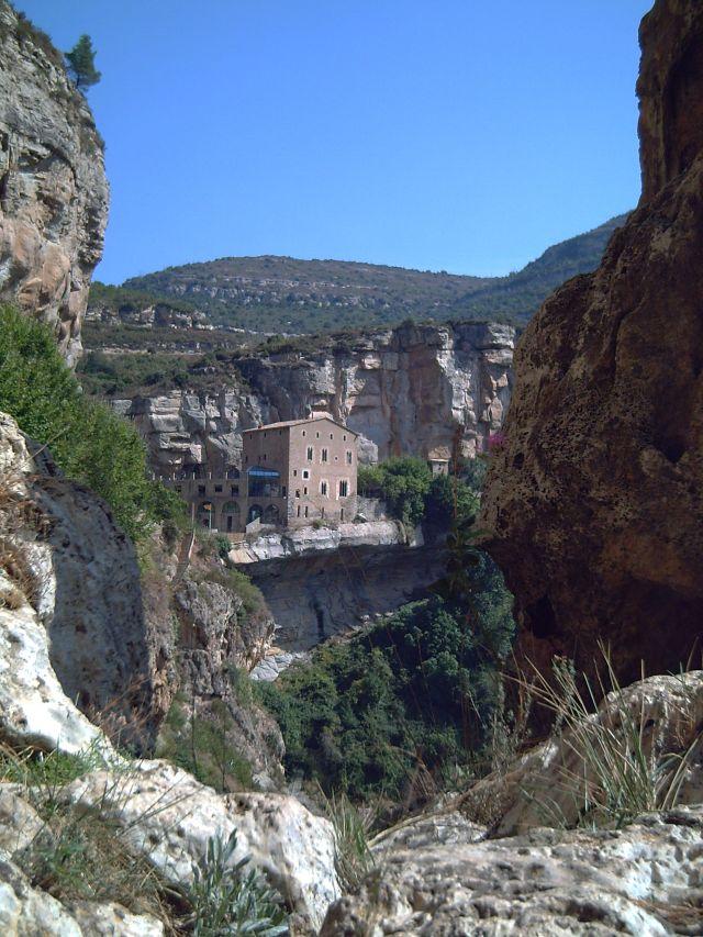 Sant Miquel del Fai near Barcelona: Priory House
