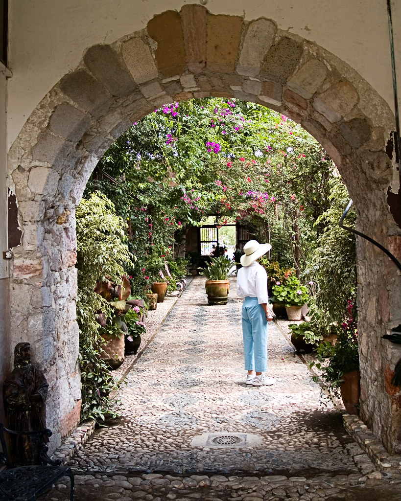 Arch Way to a Beautiful Garden