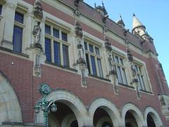 Fassade Friedenspalast