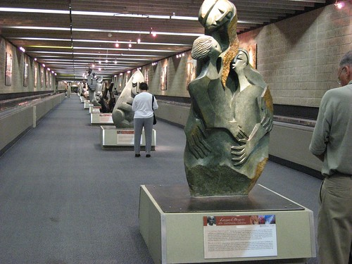 Sculptures on Display