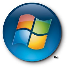 Windows Vista button