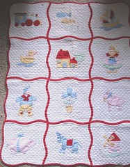 Baby Crib Quilt Pattern – Images of Patterns
