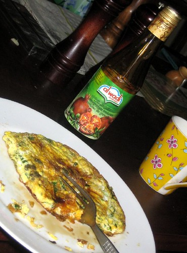 Caper Omelette