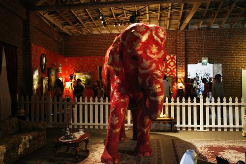 Banksy's Elephant Act