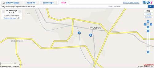 flickr map - Wie soll man hier georeferenzieren?!