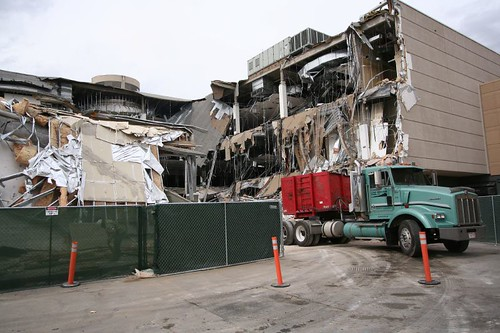 Demolishing the Lord & Taylor store in Park Meadows, Lone Tree Colorado