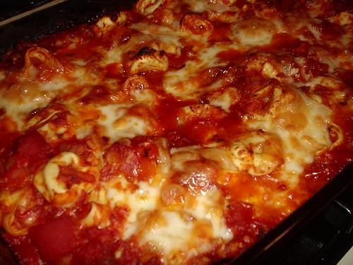 Baked Tortellini Casserole