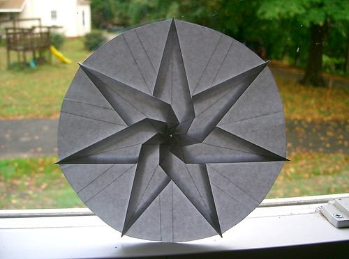 Seven Pointed Twist Star