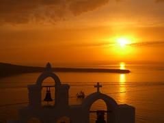 Sunset in Ia