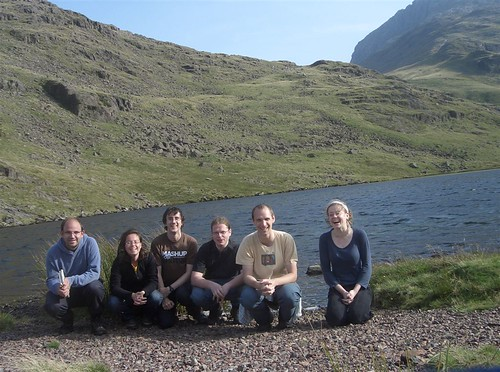 mySociety developers in the Lake District