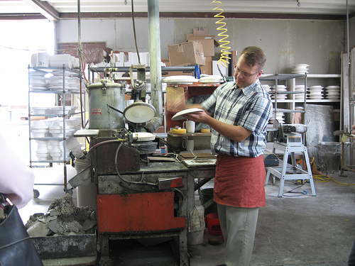 Heath Ceramics - Factory Tour (Sausalito, California) — decor8